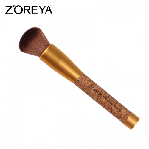 Cork handle eco-friendly ultimate blending brush