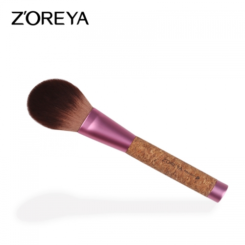 Cork handle eco-friendly powder brush