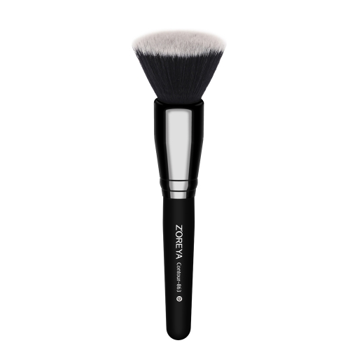 Classical black color contour brush