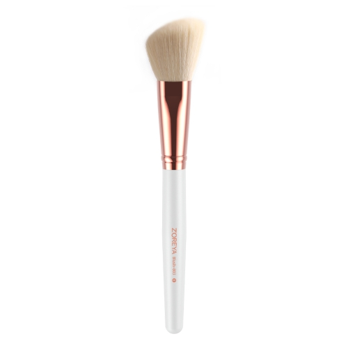 Rose gold ferrule blush brush
