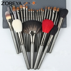 Zoreya 26 pieces makeup brush set professional makeup brushes