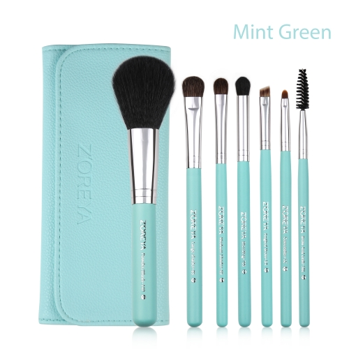 Zoreya 7pieces makeup brush set