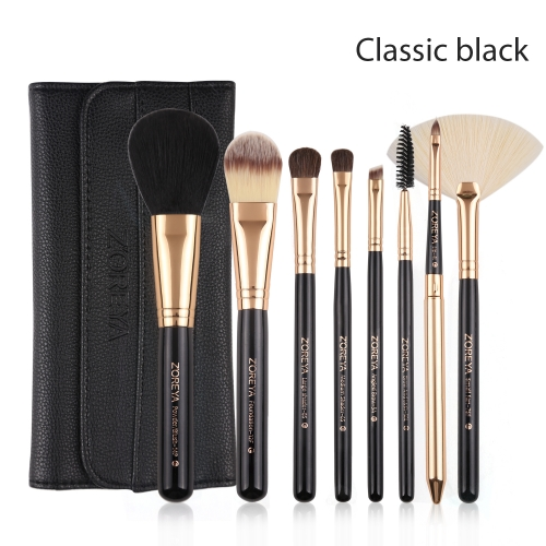 Zoreya 8 pieces makeup brush set