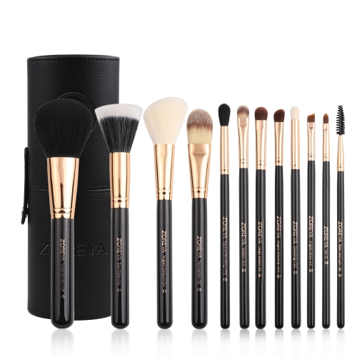 Zoreya 12pcs makeup brush set