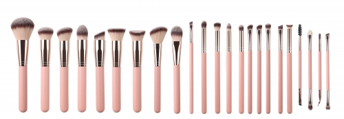 ZOREYA 23pcs Rosegold-like Makeup Brush Set